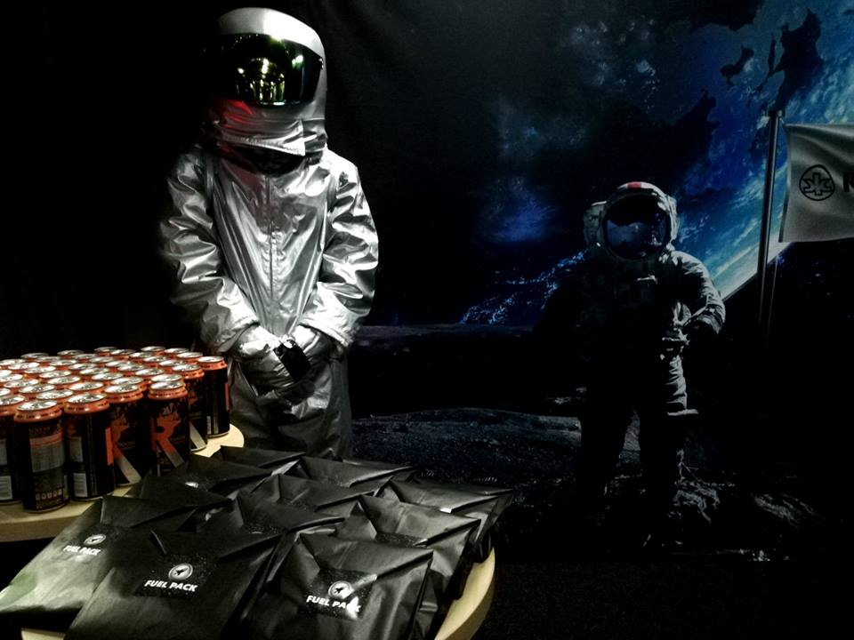 Ignite Possibilities - Astronaut greeting new arrivals